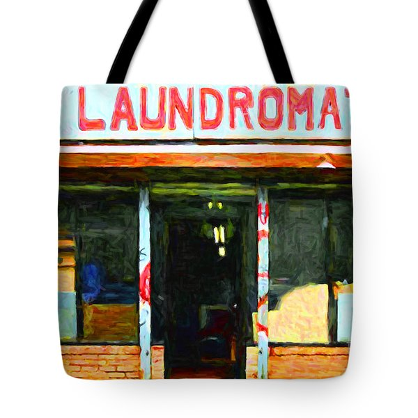 Laundromat 20130731pop Tote Bag by Wingsdomain Art and Photography