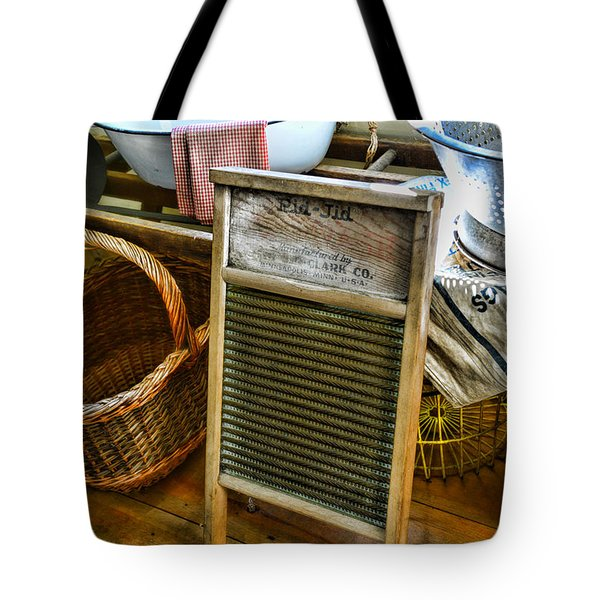 Laundry Day Tote Bag by Paul Ward