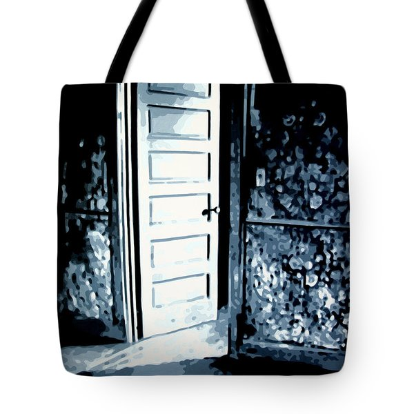 Lauras Painting Tote Bag by Luis Ludzska