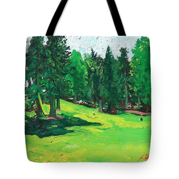Laurelhurst Park Tote Bag by Joseph Demaree