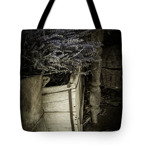 Lavandula Tote Bag by Amy Weiss