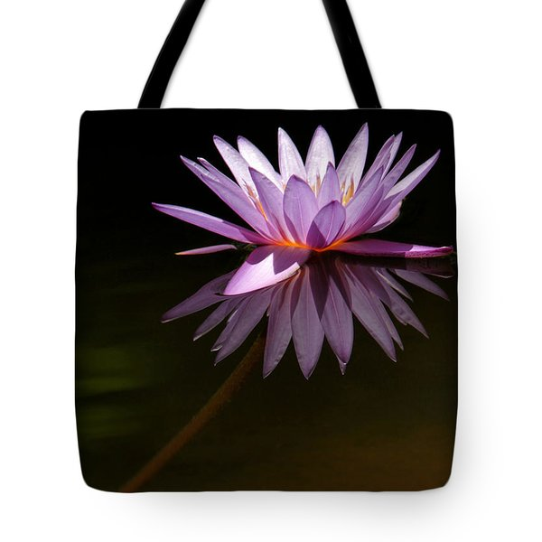 Lavendar Reflections Tote Bag by Sabrina L Ryan