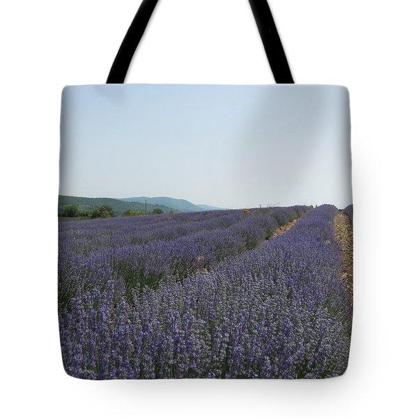 Lavender Sky Tote Bag by Pema Hou