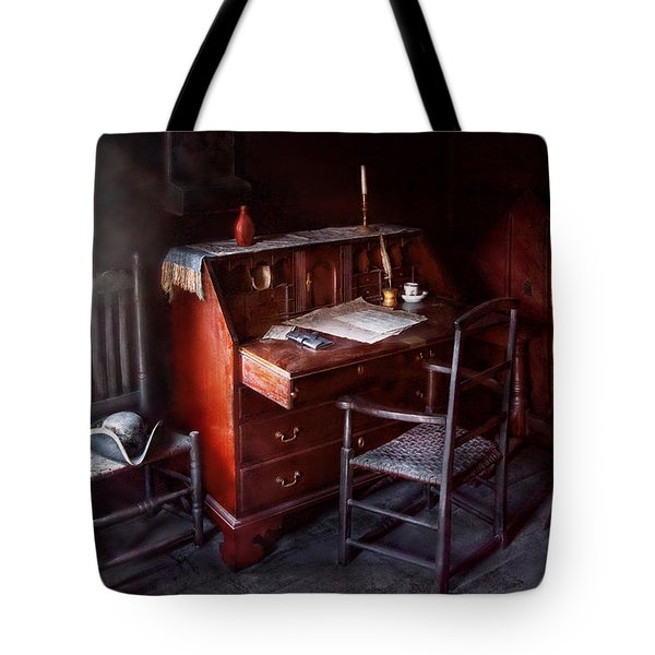 Lawyer - Writer - Where law began Tote Bag by Mike Savad