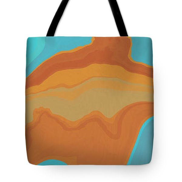 Layers And Form Tote Bag by David G Paul