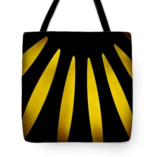 Lazy Daisy Tote Bag by Christi Kraft