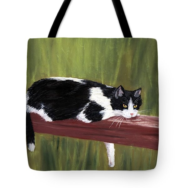 Lazy Day Tote Bag by Anastasiya Malakhova