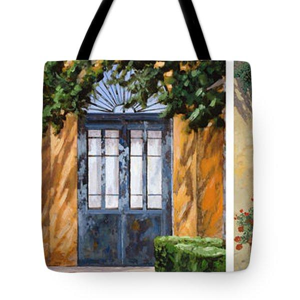 Le 5 Porte Tote Bag by Guido Borelli