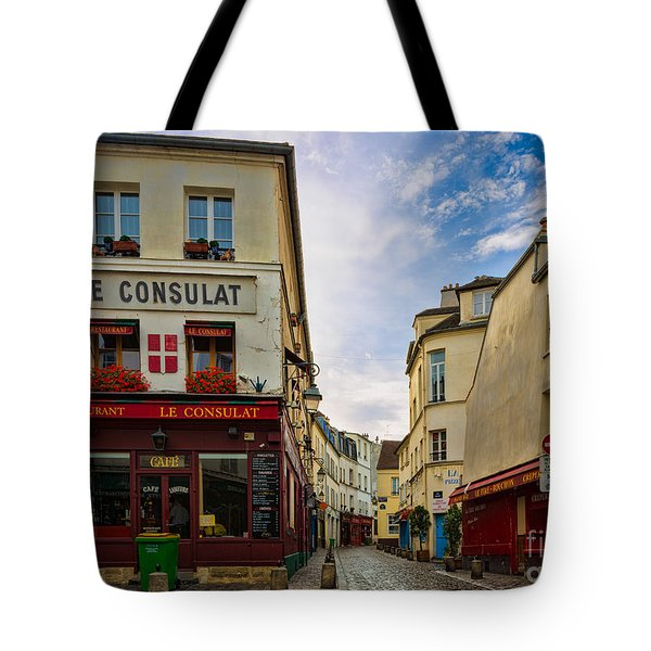 Le Consulat Tote Bag by Inge Johnsson