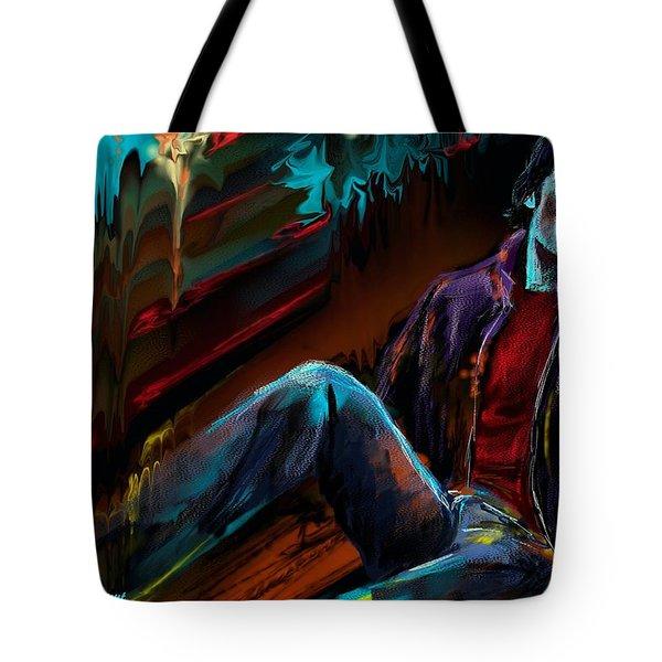 Le Reveur Tote Bag by Francoise Dugourd-Caput