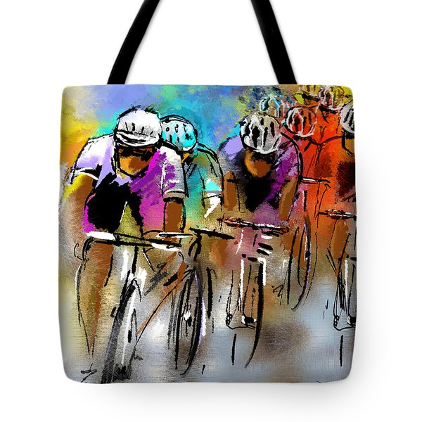Le Tour de France 03 Tote Bag by Miki De Goodaboom