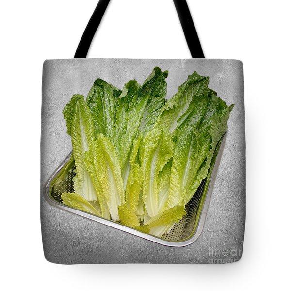 Leaf Lettuce Tote Bag by Andee Design