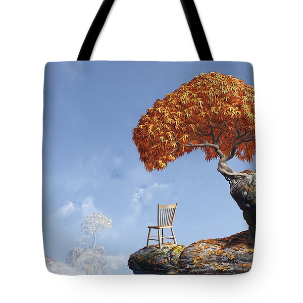 Leaf Peepers Tote Bag by Cynthia Decker