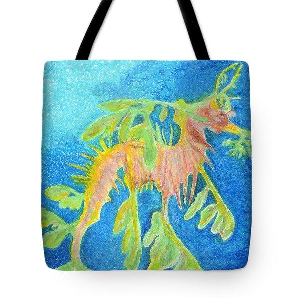 Leafy Seadragon Tote Bag by Tanya Hamell