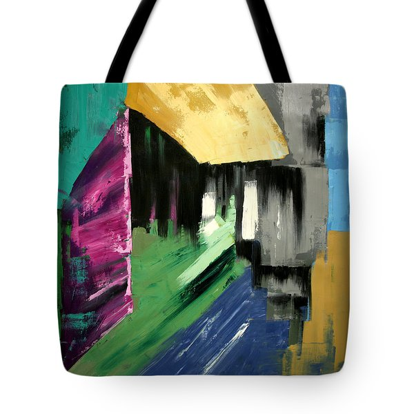 Lean Not On Your Own Understanding Tote Bag by Anthony Falbo