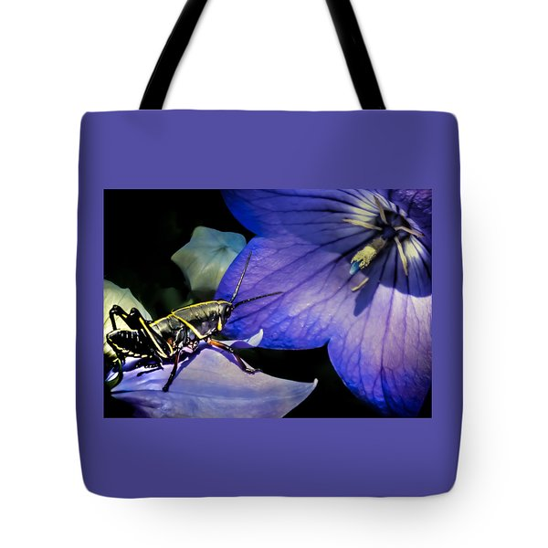 Contemplation Of A Pistil Tote Bag by Karen Wiles