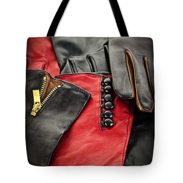 Leather gloves Tote Bag by Elena Elisseeva