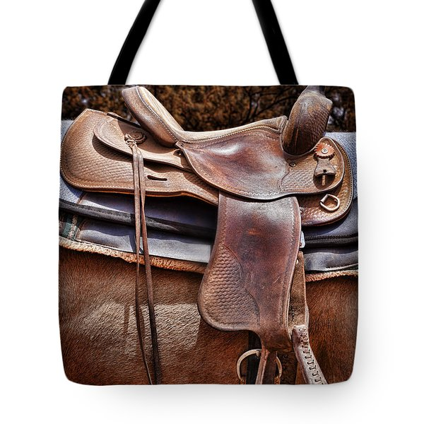 Leather Tote Bag by Kelley King