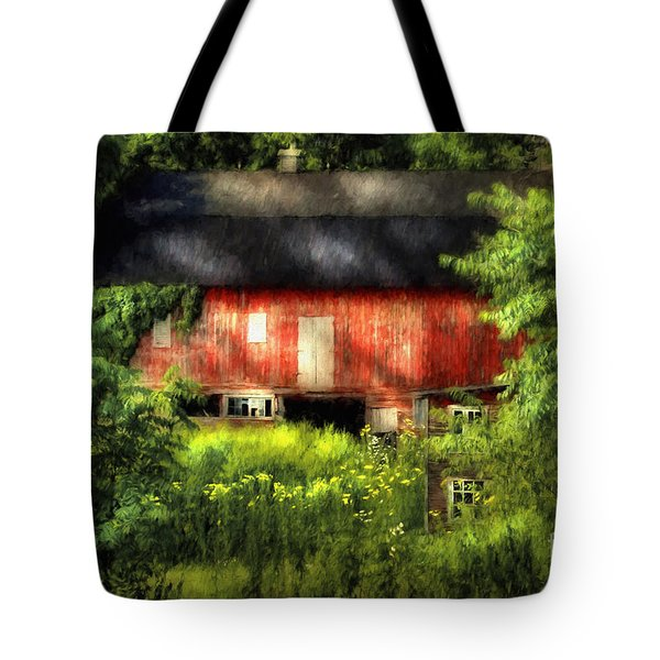 Leave Our Farms Tote Bag by Lois Bryan