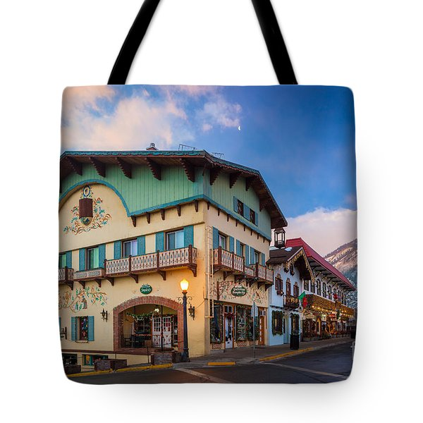 Leavenworth Alps Tote Bag by Inge Johnsson