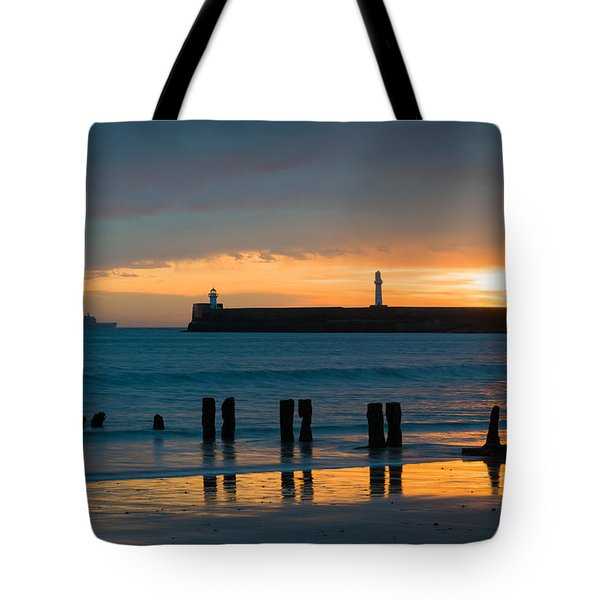 Leaving Port Tote Bag by Dave Bowman