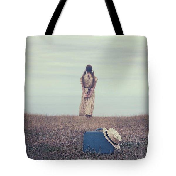 Leaving The Past Behind Me Tote Bag by Joana Kruse
