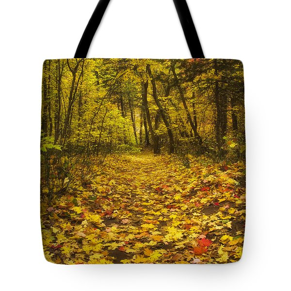 Leaving the Way Tote Bag by Peter Coskun