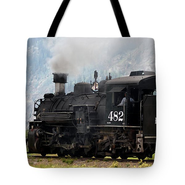 Leaving Town Tote Bag by Ernie Echols