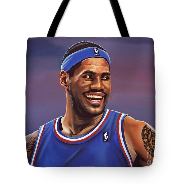 LeBron James  Tote Bag by Paul  Meijering