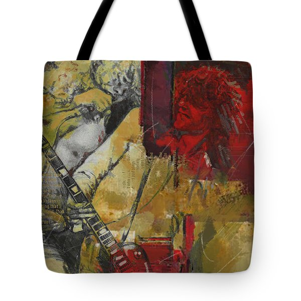 Led Zeppelin Tote Bag by Corporate Art Task Force