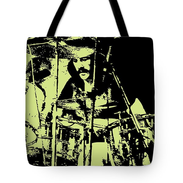 Led Zeppelin No.05 Tote Bag by Caio Caldas