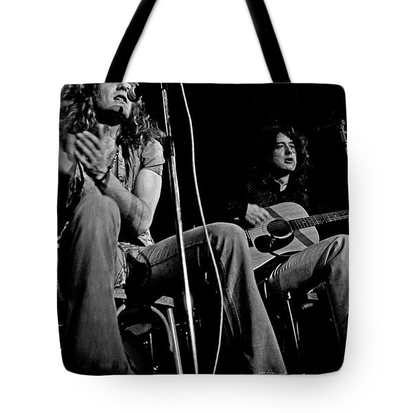 Led Zeppelin Tote Bag by Georgia Fowler