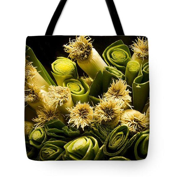Leeks Tote Bag by Jean Noren