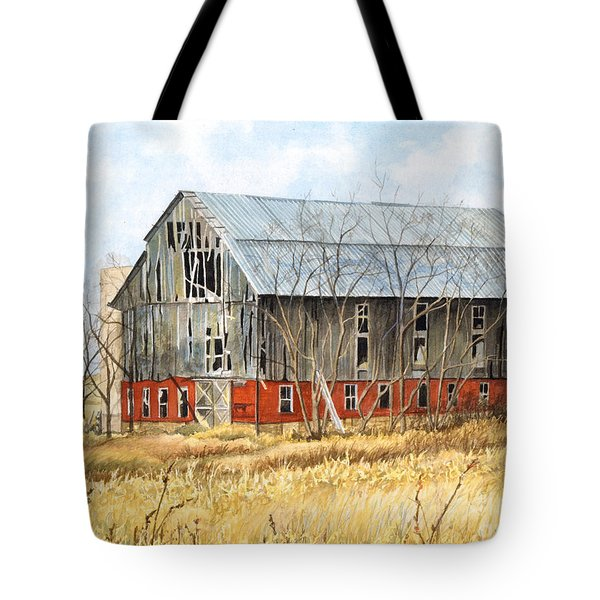 Left Behind Tote Bag by Barbara Jewell