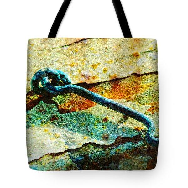 Left Open Tote Bag by Randi Grace Nilsberg