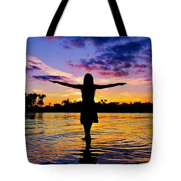 Legend Tote Bag by Laura Fasulo