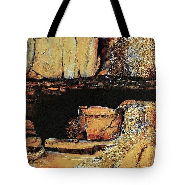 Legendary Lost Dutchman Mine Tote Bag by JAXINE Cummins