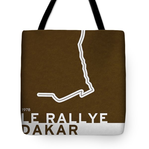 Legendary Races - 1978 Le Rallye Dakar Tote Bag by Chungkong Art