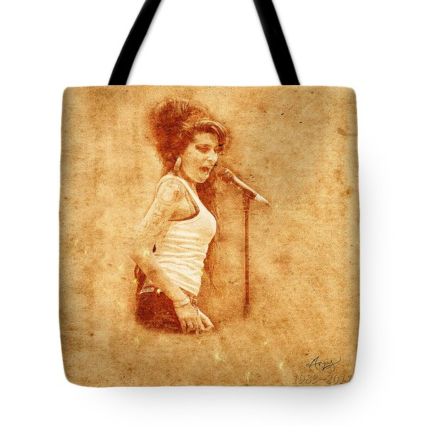 Legends 7 Tote Bag by Andrew Fare