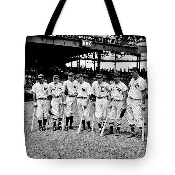 Legends Tote Bag by Benjamin Yeager