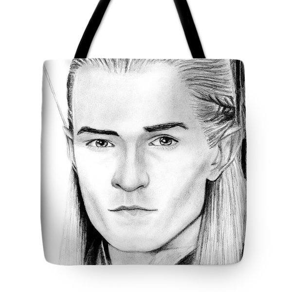 Legolas Greenleaf Tote Bag by Kayleigh Semeniuk