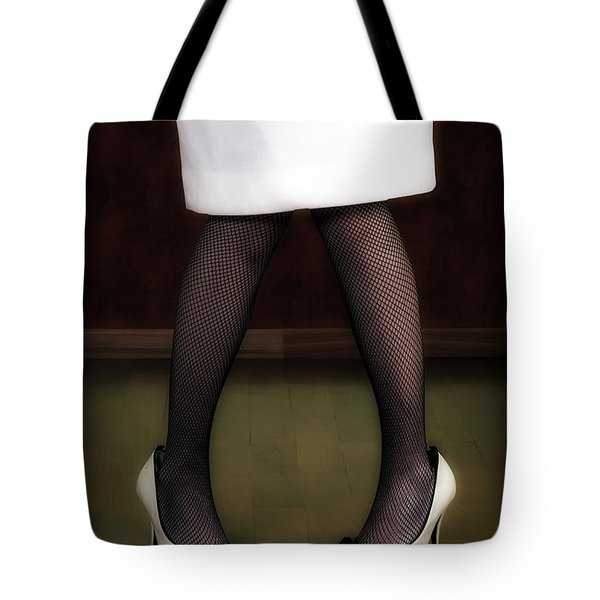 legs and shoes Tote Bag by Joana Kruse