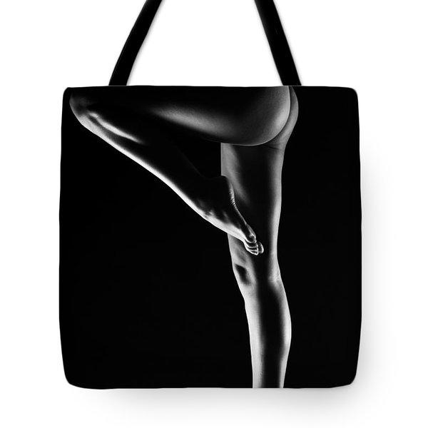 Legs Tote Bag by Eivydas Timinskas