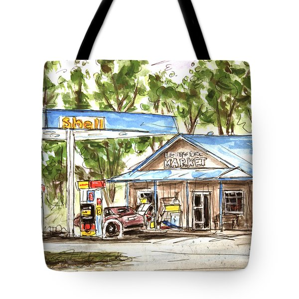 Leipers Fork Market Tote Bag by Tim Ross