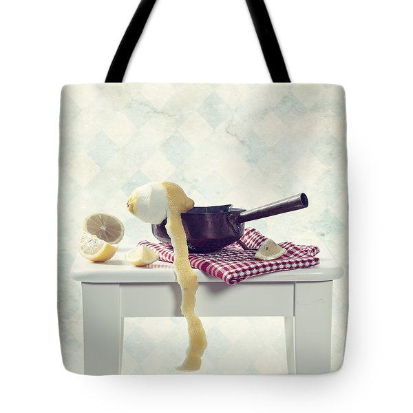 lemon Tote Bag by Joana Kruse