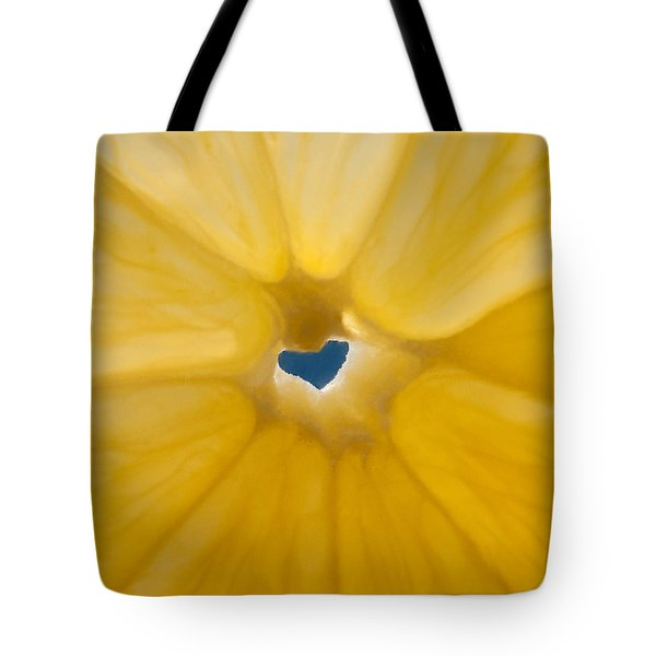 Lemon Sunshine Love Tote Bag by Roger Reeves  and Terrie Heslop