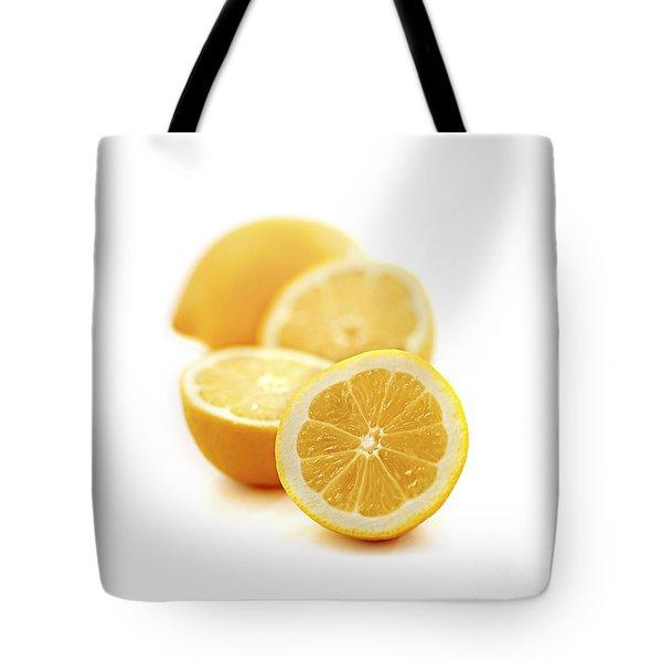 Lemons Tote Bag by Elena Elisseeva