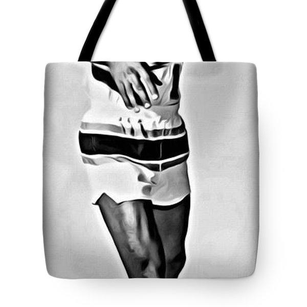 Lenny Wilkens Tote Bag by Florian Rodarte