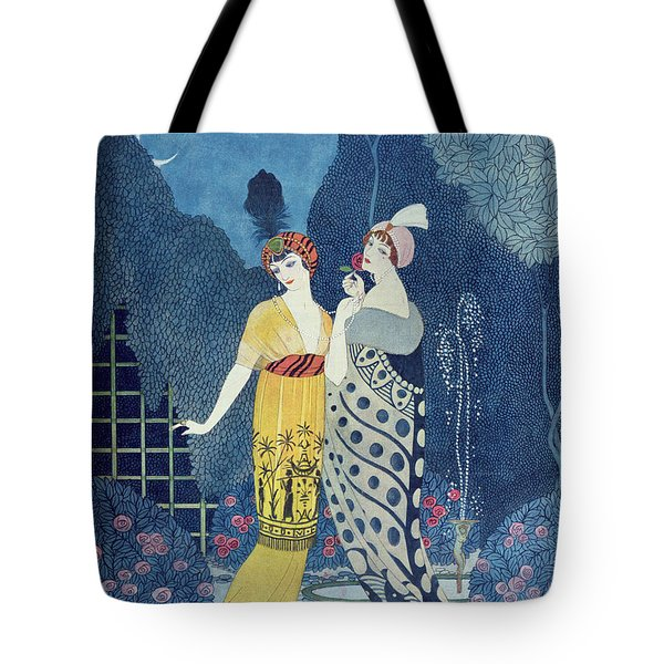 Les Modes Tote Bag by Georges Barbier
