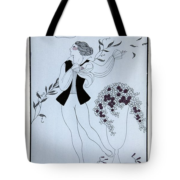 Les Sylphides Tote Bag by Georges Barbier